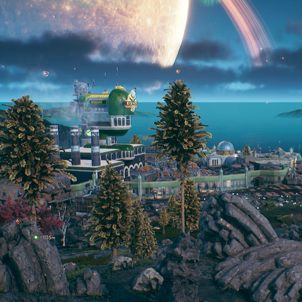 image: a screenshot from outer worlds