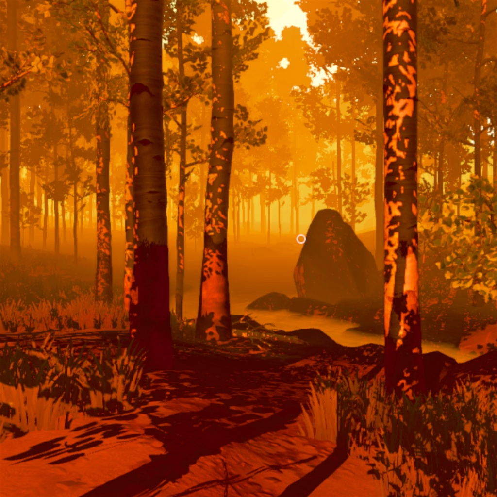 a screenshot of the firewatch countryside
