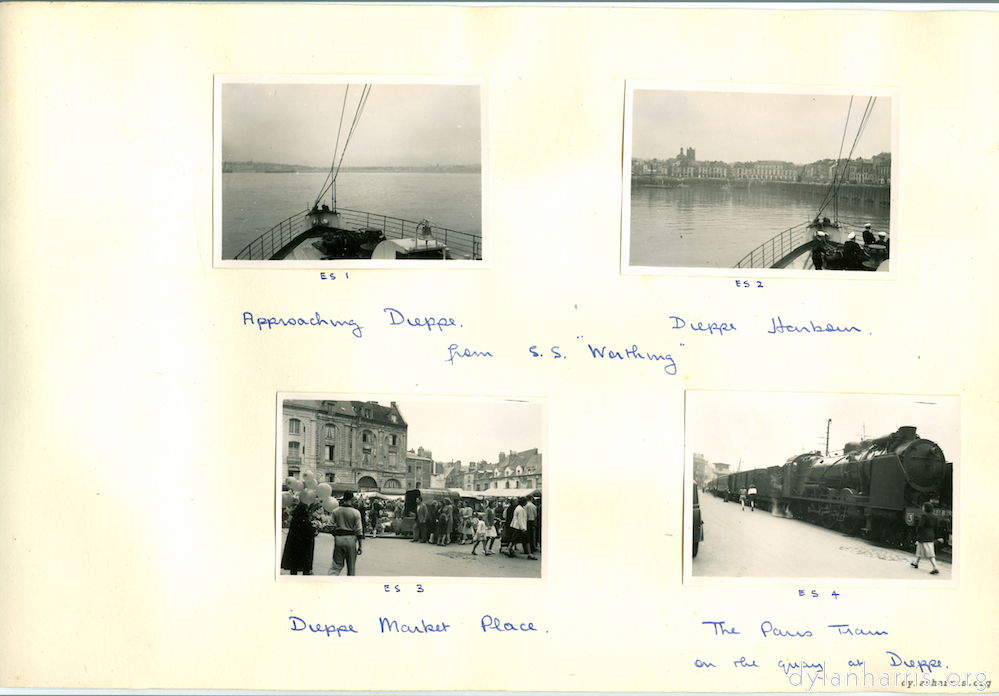 "from S.S. ""Worthing""."