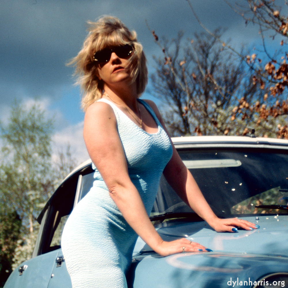image: Dawn Davis with Doris the DS.